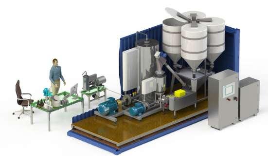 Мини-завод по производству сгущенного молока