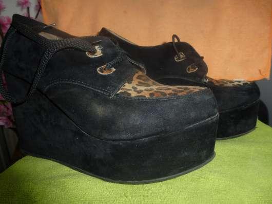 туфли на платформе черные размер 39 в г. Кременчуг Фото 2