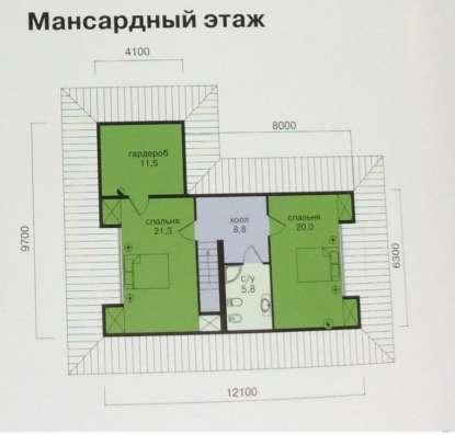 Загородный дом в Ленинградской области в Санкт-Петербурге Фото 5