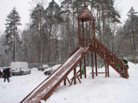 Горка зимняя для детей и взрослых