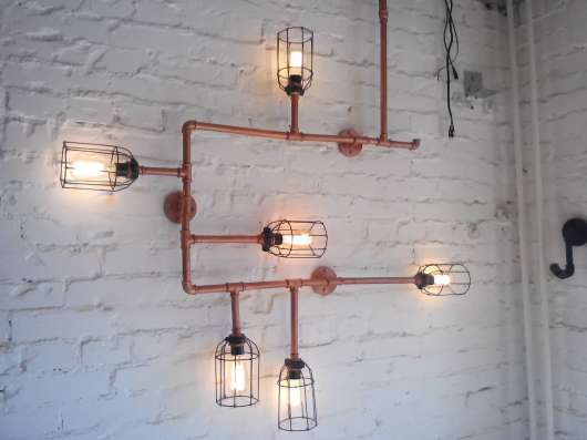 Loft и Industrial светильники