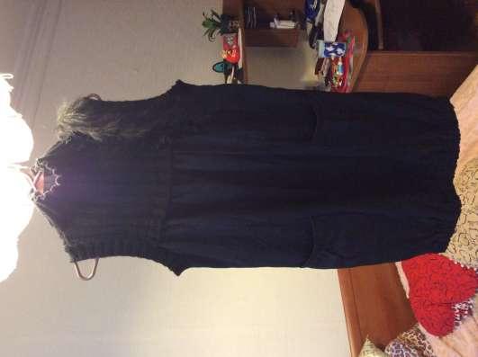 Платье - туника с мехом