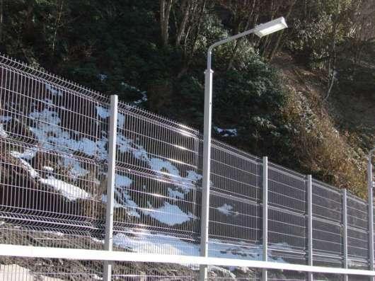 3D забор, панель 1730-2500-3мм без полимерногопокрытия, цинк