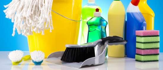 Генеральная уборка, мытье окон