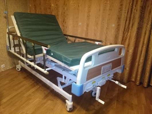 Продам медицинскую кровать для ухода за лежачими больными