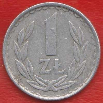 Польша 1 злотый 1985 г. Варшавский мондвор