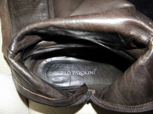 Демисезонные кожаные сапоги Carlo Pazolini р. З8 в г. Запорожье Фото 1