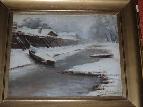 "Перикл Ксидиас, картина ""Рисунок с натуры"" . Нач. 1900-х гг."