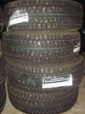 Новые шипы Dunlop 265/70 R16 Winter ICE01 в Москве Фото 1