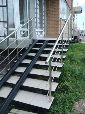 Сварные металлоконструкции, ограждения, лестницы.