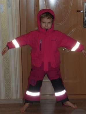 куртка и штаны на лямках Дидриксон осень-зима