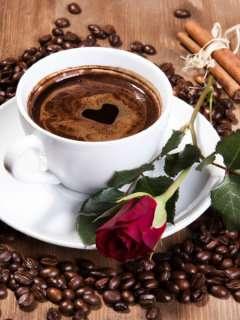 Кофе.Свежая обжарка