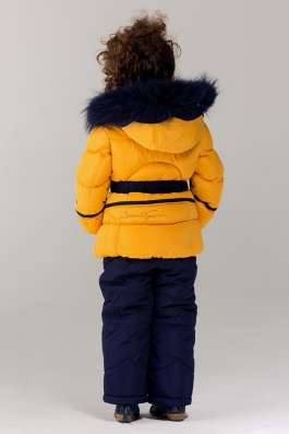 Bilemi Зимний костюм био-пух 316580 желтд ый