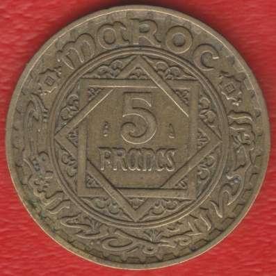 Марокко Французское 5 франков 1946 г.