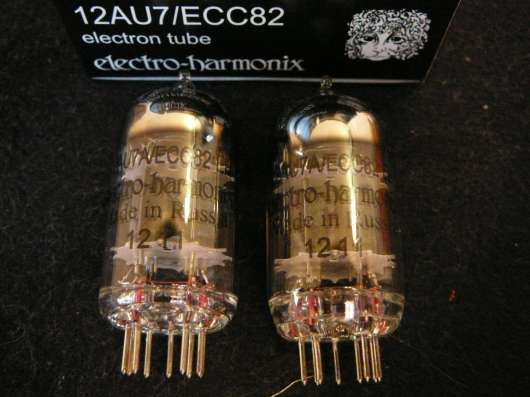 Радиолампы Electro-Harmonix 12AU7/ECC82