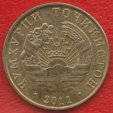 Таджикистан 10 дирам 2011 г.