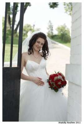 Шикарное модное свадебное платье