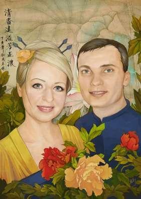 Портрет по фото цифровой в Челябинске Фото 1