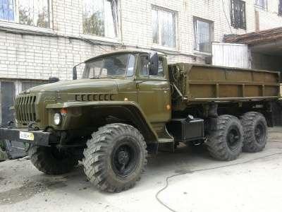 грузовой автомобиль УРАЛ 5557 самосвал в г. Ухта Фото 1