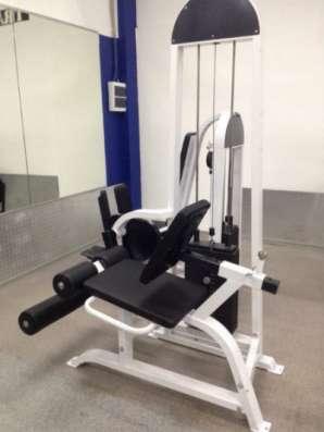 силовой тренажер profy gym разгибание ног сидя