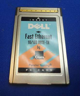 Сетевая карта Dell fast ethernet 10/100 base-TX