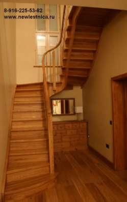 Красивые лестницы от производителя Новая Лестница в Зеленограде Фото 4