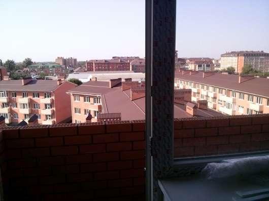 Двухкомнатная квартира в новом доме под самоотделку в Краснодаре Фото 5