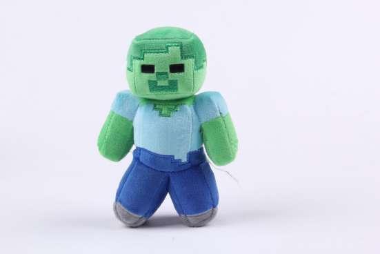 Мягкая игрушка Зомби (Майнкрафт) в Перми Фото 1