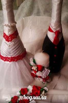 """Свадебные свечи для обряда """"Семейный очаг"""""""