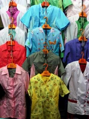 Медицинские халаты и костюмы