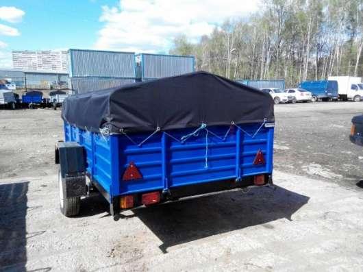 Прицеп КРД 050125 для автомобиля с тентом 2700х1560