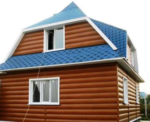 Металлический сайдинг «Блок-хаус»