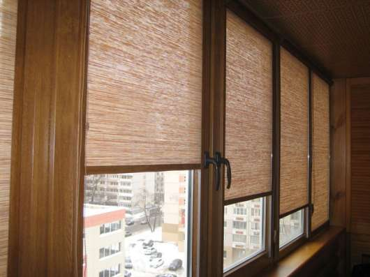 Рулонные шторы УНИ на ПВХ окна в Москве Фото 3
