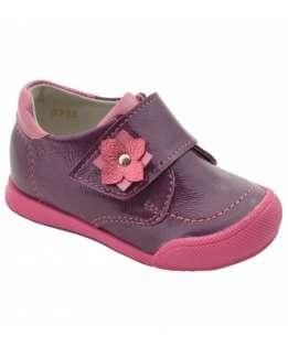 Полуботинки для девочки с цветочком