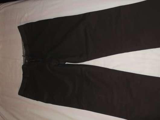 Продам джинсы утепленные коричневые р-р 52, новые