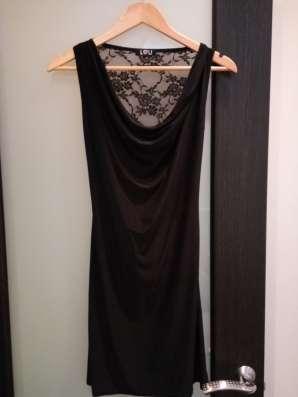 Платье парадное черного цвета в Липецке Фото 1