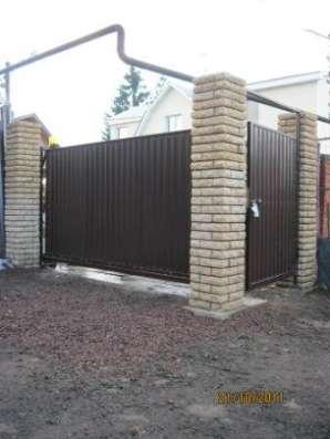 Ворота откатные 3,5*1,7 м