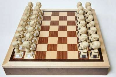 Политические шахматы в Оренбурге Фото 1