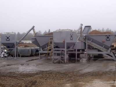 Мобильный бетонный завод Fibo Intercon F2200