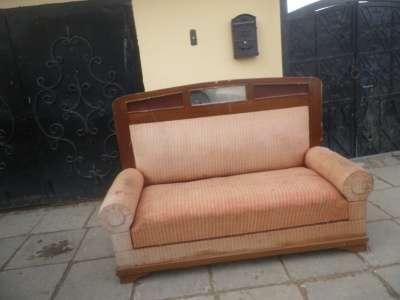 Старинный диван с валиками. в Москве Фото 4