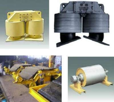 Железоотделители электромагнитные подвес