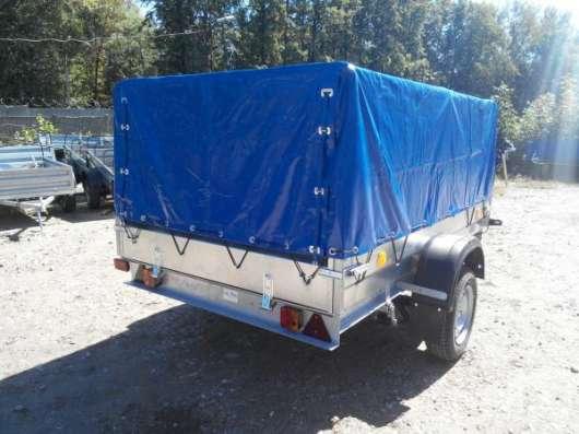 Рессорный автомобильный прицеп Трейлер 2,5х1,5м для перевозки различных грузов