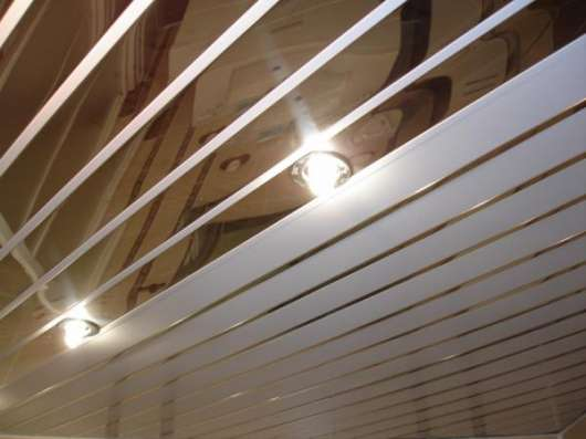 Потолок Реечный Подвесной Алюминиевый в Калининграде Фото 5