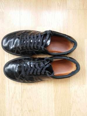 Туфли черные, натуральная лаковая кожа, б/у