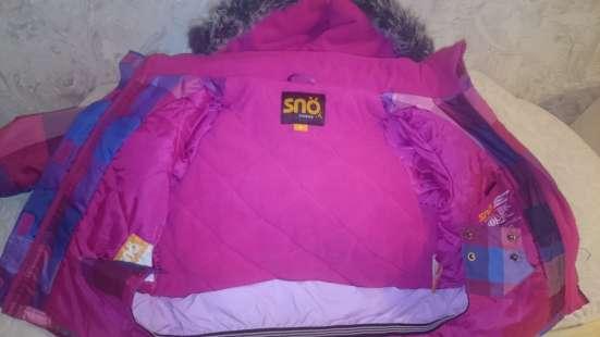 Зимний детский комбинезон и куртка
