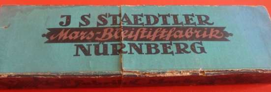 Карандаши дореволюционные J. S. Staedtler коробка