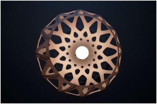 Светильник ZAHA LIGHT подвесной, белый