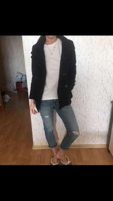 Пальто чёрное
