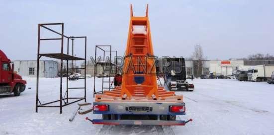 Трал панелевоз 40 тонник, 11 метров со съемной фермой для перевозки панелей. 3-х осный в Челябинске Фото 3