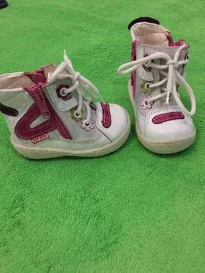 Детские ботиночки осень весна